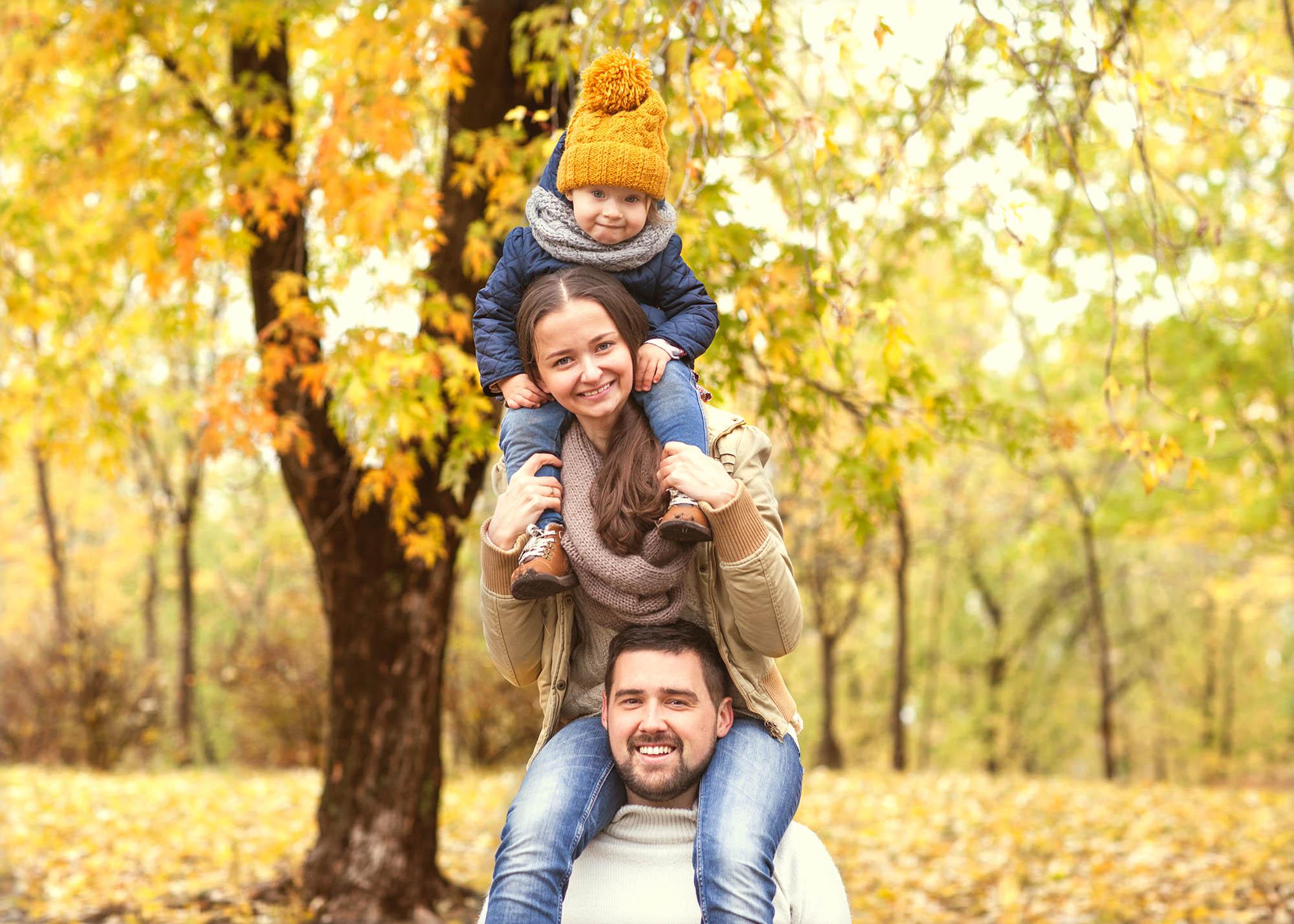 Autumn Family photography