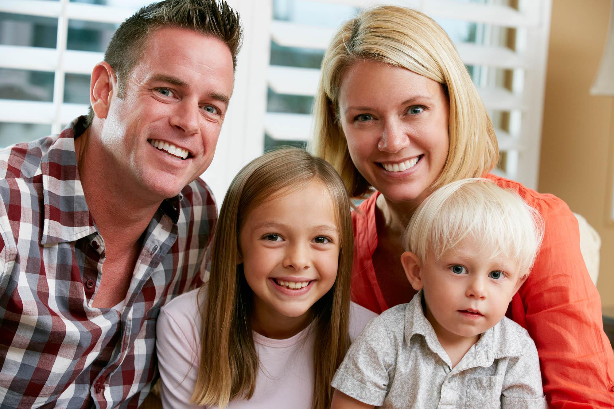 Family portrait St Louis MO