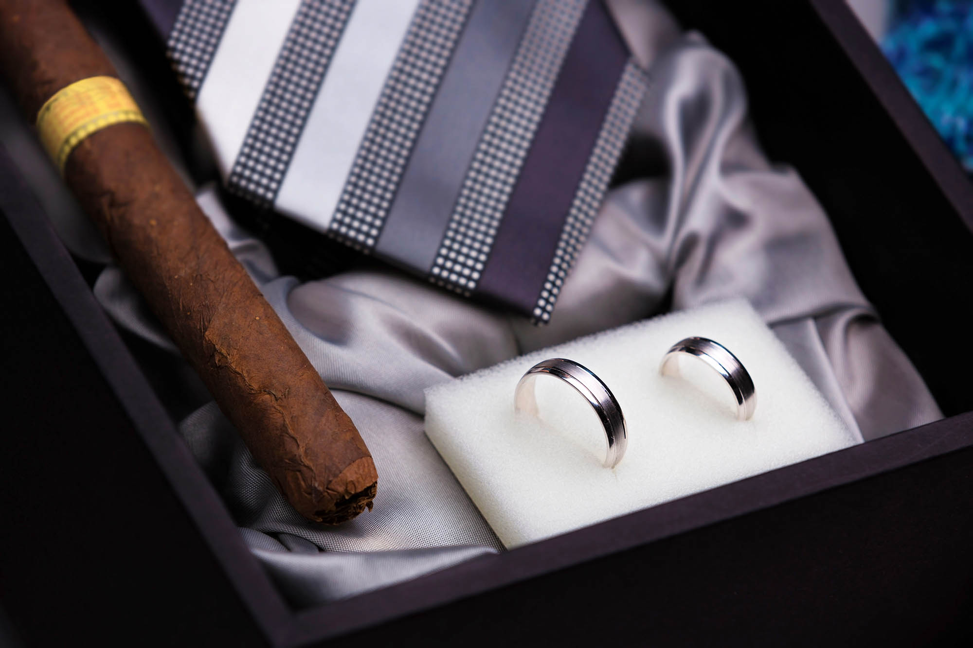 Groom accessories photography